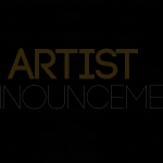 📢 ARTIST ANNOUNCEMENT 2020📢